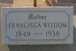 WISDOM, FRANCISCA - Maricopa County, Arizona | FRANCISCA WISDOM - Arizona Gravestone Photos