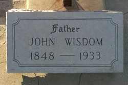 WISDOM, JOHN - Maricopa County, Arizona   JOHN WISDOM - Arizona Gravestone Photos