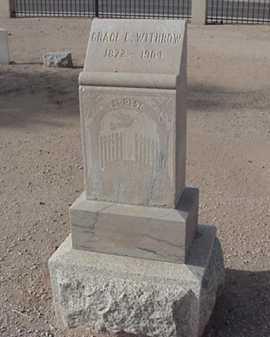 WITHROW, GRACE E. - Maricopa County, Arizona | GRACE E. WITHROW - Arizona Gravestone Photos