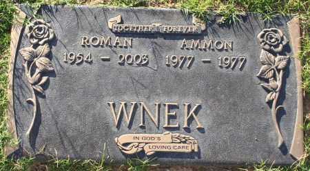 WNEK, AMMON - Maricopa County, Arizona   AMMON WNEK - Arizona Gravestone Photos