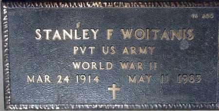 WOITANIS, STANLEY F. - Maricopa County, Arizona | STANLEY F. WOITANIS - Arizona Gravestone Photos