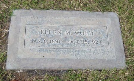 HALL WOLD, ELLEN MAY - Maricopa County, Arizona | ELLEN MAY HALL WOLD - Arizona Gravestone Photos