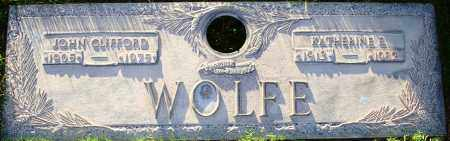 WOLFE, JOHN CLIFFORD - Maricopa County, Arizona   JOHN CLIFFORD WOLFE - Arizona Gravestone Photos