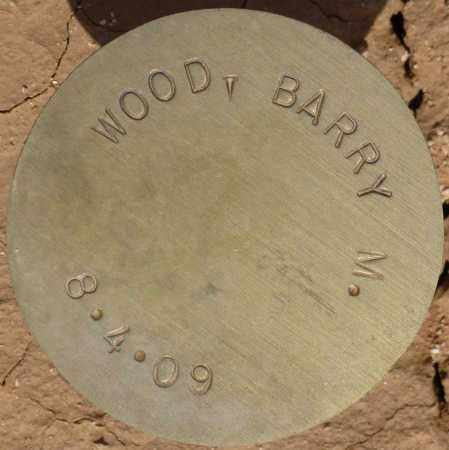 WOOD, BARRY M. - Maricopa County, Arizona | BARRY M. WOOD - Arizona Gravestone Photos