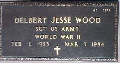 WOOD, DELBERT JESSE - Maricopa County, Arizona | DELBERT JESSE WOOD - Arizona Gravestone Photos