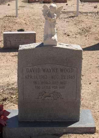 WOOD, DAVID WAYNE - Maricopa County, Arizona | DAVID WAYNE WOOD - Arizona Gravestone Photos