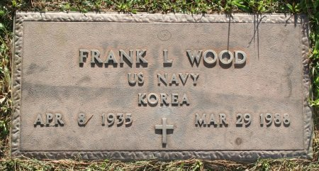 WOOD, FRANK L - Maricopa County, Arizona | FRANK L WOOD - Arizona Gravestone Photos