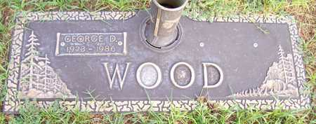 WOOD, GEORGE D. - Maricopa County, Arizona | GEORGE D. WOOD - Arizona Gravestone Photos
