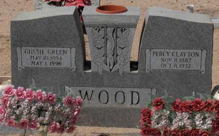 WOOD, PERCY CLAYTON - Maricopa County, Arizona | PERCY CLAYTON WOOD - Arizona Gravestone Photos