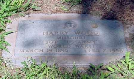 "WOOD, HARRISON ""HARRY"" - Maricopa County, Arizona | HARRISON ""HARRY"" WOOD - Arizona Gravestone Photos"