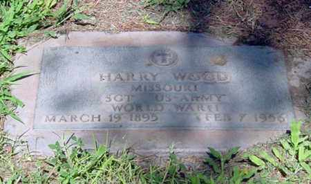 "WOOD, HARRISON ""HARRY"" - Maricopa County, Arizona 