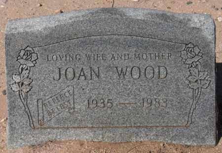WOOD, JOAN - Maricopa County, Arizona | JOAN WOOD - Arizona Gravestone Photos