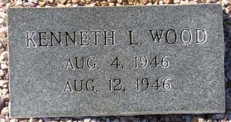 WOOD, KENNETH L. - Maricopa County, Arizona | KENNETH L. WOOD - Arizona Gravestone Photos