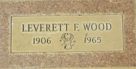 WOOD, LEVERETT F - Maricopa County, Arizona   LEVERETT F WOOD - Arizona Gravestone Photos