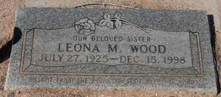 WOOD, LEONA M. - Maricopa County, Arizona | LEONA M. WOOD - Arizona Gravestone Photos