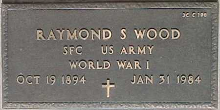 WOOD, RAYMOND S. - Maricopa County, Arizona | RAYMOND S. WOOD - Arizona Gravestone Photos