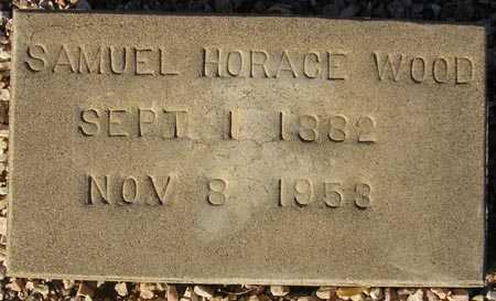 WOOD, SAMUEL HORACE - Maricopa County, Arizona | SAMUEL HORACE WOOD - Arizona Gravestone Photos