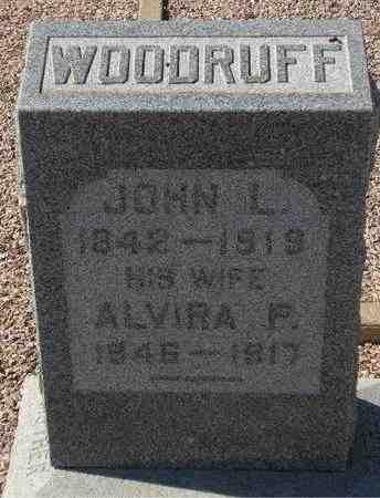 WOODRUFF, ALVIRA P. - Maricopa County, Arizona | ALVIRA P. WOODRUFF - Arizona Gravestone Photos