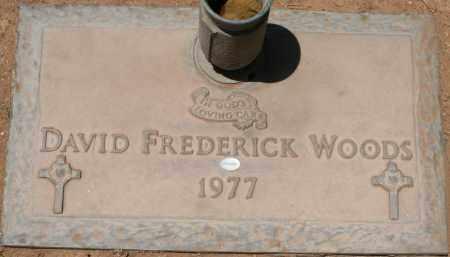 WOODS, DAVID FREDERICK - Maricopa County, Arizona   DAVID FREDERICK WOODS - Arizona Gravestone Photos
