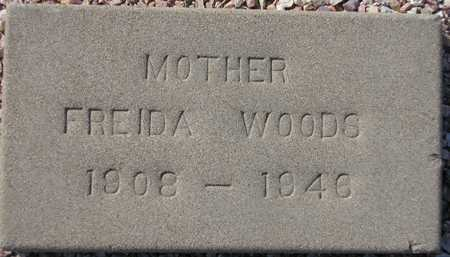 WOODS, FREIDA - Maricopa County, Arizona | FREIDA WOODS - Arizona Gravestone Photos