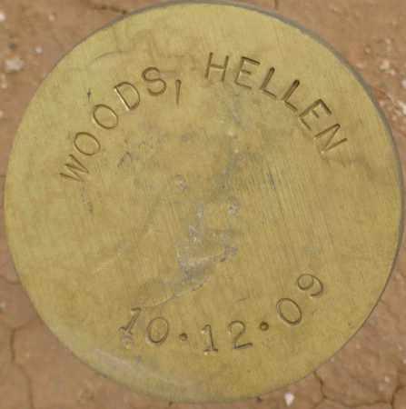 WOODS, HELLEN - Maricopa County, Arizona | HELLEN WOODS - Arizona Gravestone Photos