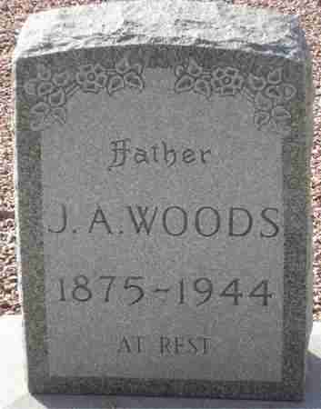 WOODS, J. A. - Maricopa County, Arizona | J. A. WOODS - Arizona Gravestone Photos