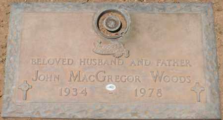 WOODS, JOHN MACGREGOR - Maricopa County, Arizona | JOHN MACGREGOR WOODS - Arizona Gravestone Photos