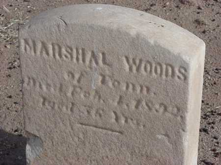 WOODS, MARSHALL - Maricopa County, Arizona | MARSHALL WOODS - Arizona Gravestone Photos