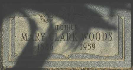 WOODS, MARY LARK - Maricopa County, Arizona   MARY LARK WOODS - Arizona Gravestone Photos