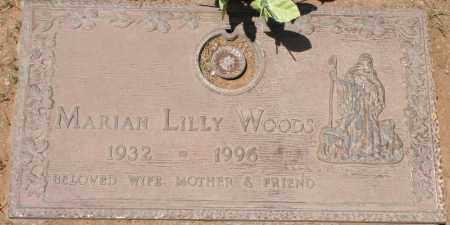 WOODS, MARIAN LILLY - Maricopa County, Arizona   MARIAN LILLY WOODS - Arizona Gravestone Photos