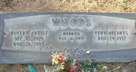 WOODS, ROBERT ARTIST - Maricopa County, Arizona | ROBERT ARTIST WOODS - Arizona Gravestone Photos