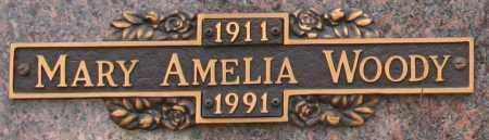 WOODY, MARY AMELIA - Maricopa County, Arizona | MARY AMELIA WOODY - Arizona Gravestone Photos
