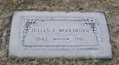 WOOLDRIDGE, JULIAN F. - Maricopa County, Arizona   JULIAN F. WOOLDRIDGE - Arizona Gravestone Photos