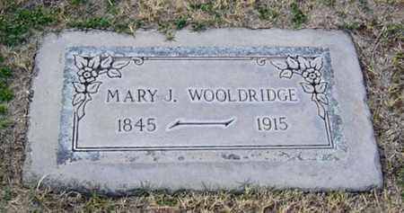 PULLIAM WOOLDRIDGE, MARY JANE - Maricopa County, Arizona | MARY JANE PULLIAM WOOLDRIDGE - Arizona Gravestone Photos