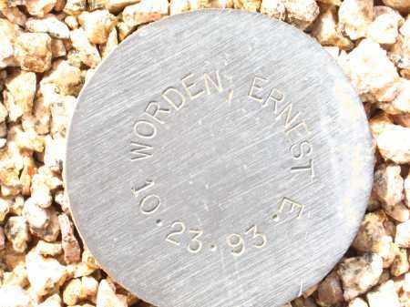 WORDEN, ERNEST E. - Maricopa County, Arizona | ERNEST E. WORDEN - Arizona Gravestone Photos