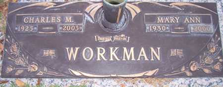 WORKMAN, MARY ANN - Maricopa County, Arizona | MARY ANN WORKMAN - Arizona Gravestone Photos