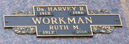 WORKMAN, RUTH M - Maricopa County, Arizona | RUTH M WORKMAN - Arizona Gravestone Photos