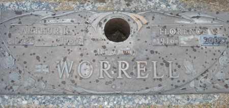 WORRELL, FLORENCE V. - Maricopa County, Arizona   FLORENCE V. WORRELL - Arizona Gravestone Photos