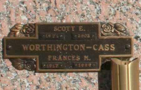 CASS, FRANCES M - Maricopa County, Arizona   FRANCES M CASS - Arizona Gravestone Photos