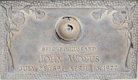 WOYUS, JOHN - Maricopa County, Arizona | JOHN WOYUS - Arizona Gravestone Photos