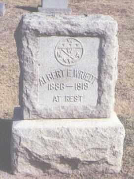 WRIEDT, ALBERT F. - Maricopa County, Arizona | ALBERT F. WRIEDT - Arizona Gravestone Photos