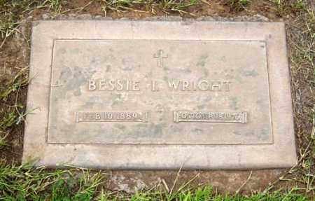 WRIGHT, BESSIE I. - Maricopa County, Arizona | BESSIE I. WRIGHT - Arizona Gravestone Photos