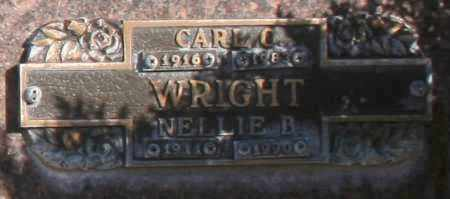 WRIGHT, CARL C - Maricopa County, Arizona | CARL C WRIGHT - Arizona Gravestone Photos