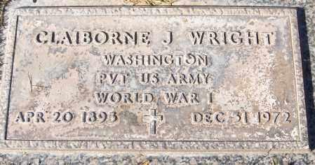 WRIGHT, CLAIBORNE J. - Maricopa County, Arizona | CLAIBORNE J. WRIGHT - Arizona Gravestone Photos