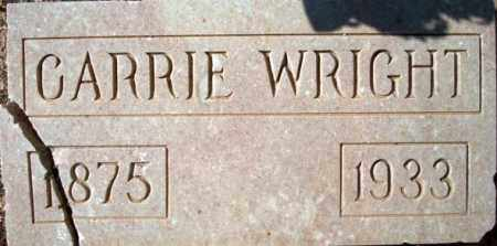 GARMES WRIGHT, CARRIE - Maricopa County, Arizona | CARRIE GARMES WRIGHT - Arizona Gravestone Photos