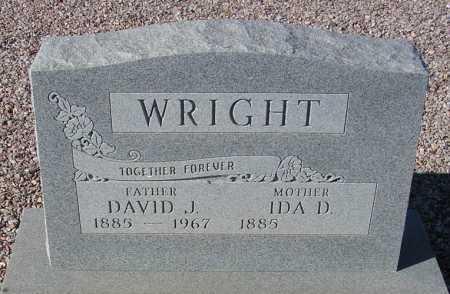 WRIGHT, IDA D. - Maricopa County, Arizona | IDA D. WRIGHT - Arizona Gravestone Photos