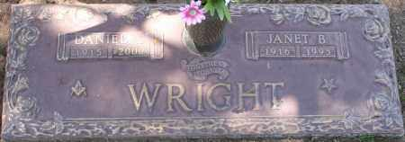 WRIGHT, JANET B. - Maricopa County, Arizona | JANET B. WRIGHT - Arizona Gravestone Photos