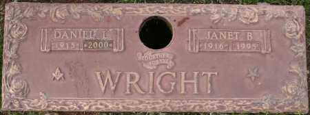 WRIGHT, JANET B - Maricopa County, Arizona | JANET B WRIGHT - Arizona Gravestone Photos