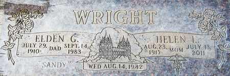 WRIGHT, HELEN L. - Maricopa County, Arizona | HELEN L. WRIGHT - Arizona Gravestone Photos