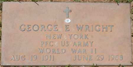 WRIGHT, GEORGE E. - Maricopa County, Arizona | GEORGE E. WRIGHT - Arizona Gravestone Photos